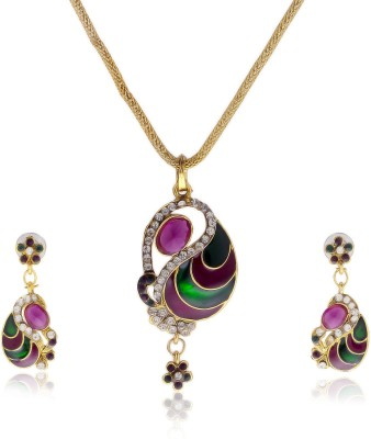 Luxor Alloy Jewel Set(Multicolor)  available at flipkart for Rs.399