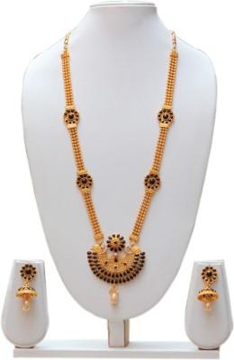 Swarajshop Copper Jewel Set(Gold) at flipkart