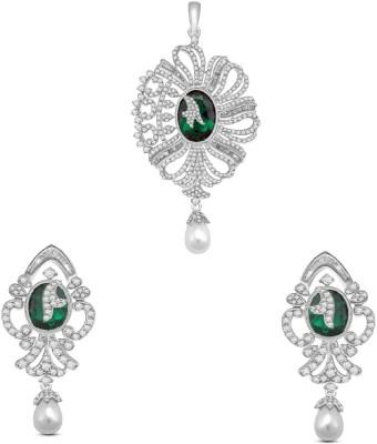 Vijisan Sterling Silver Jewel Set(Silver) at flipkart