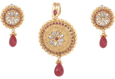 Orolush Brass Jewel Set(Multicolor) at flipkart