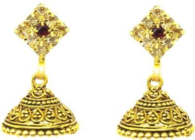 GoldNera Shining Alloy Jhumki Earring GoldNera Earrings