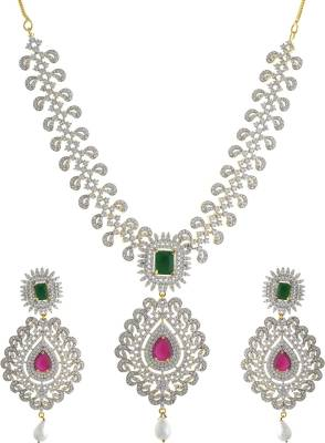 Chaahat Fashion Jewellery Copper Jewel Set