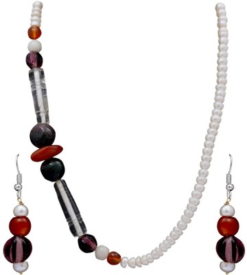 DD Pearls Mother of Pearl Jewel Set(Multicolor) at flipkart