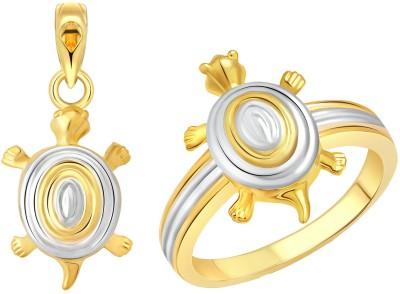 Vighnaharta Alloy Jewel Set(Gold) at flipkart