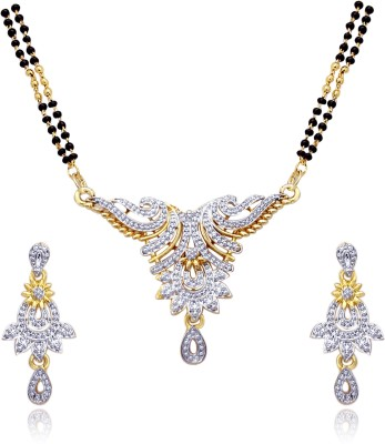Atasi International Alloy Jewel Set(Multicolor)