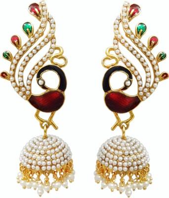 Chetan Arts Jewellery Beads Zinc Jhumki Earring at flipkart