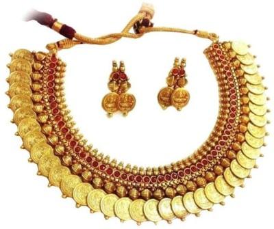 Penny Jewels Alloy Jewel Set Gold