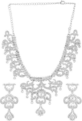 memoir Brass Jewel Set(Silver)