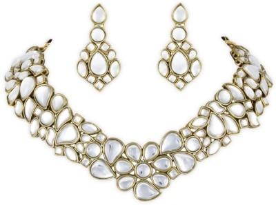 Karatcart Alloy Jewel Set(Gold) at flipkart