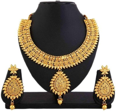 Penny Jewels Alloy Jewel Set(Gold) at flipkart