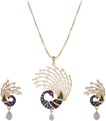 RB Jewels Alloy Jewel Set(Multicolor) at flipkart