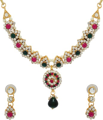 Luxor Alloy Jewel Set(Multicolor)  available at flipkart for Rs.349