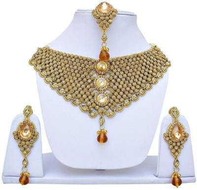 Styylo Fashion Alloy Jewel Set(Gold) at flipkart