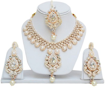Jewels Guru Alloy Jewel Set(Multicolor) at flipkart