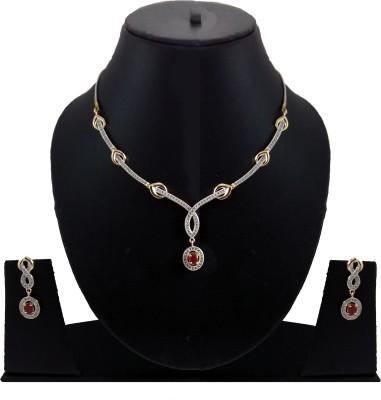 Shubh 4u Alloy Jewel Set(Gold) at flipkart