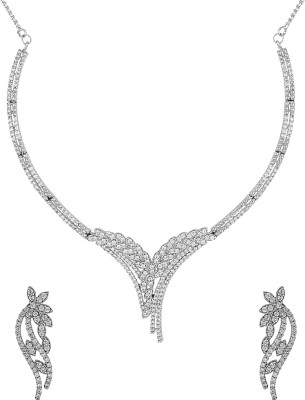 Voylla Alloy Jewel Set(Silver) at flipkart