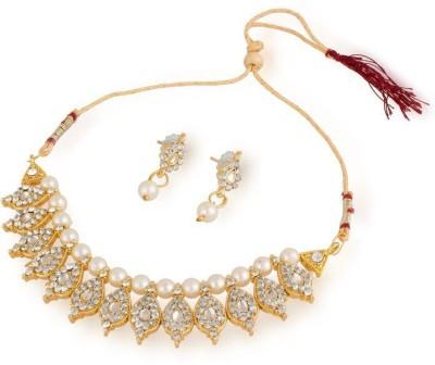 Luxor Alloy Jewel Set(White, Gold)  available at flipkart for Rs.349