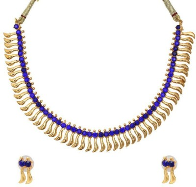 Luxor Alloy Jewel Set(Blue) at flipkart
