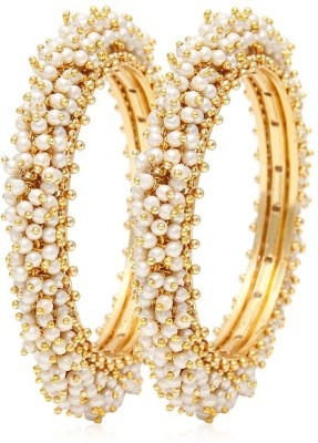 Jewels Galaxy Alloy Bangle Set(Pack of 2) at flipkart