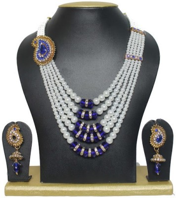 Sewad Alloy Jewel Set(Blue) at flipkart