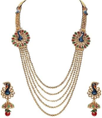 Penny Jewels Alloy Jewel Set(Multicolor) at flipkart