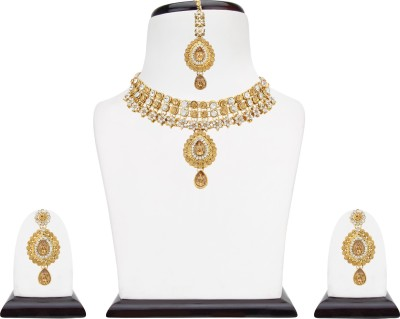 Ananya Traders Alloy Jewel Set(Gold) at flipkart