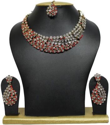 Sewad Brass Jewel Set(Multicolor) at flipkart