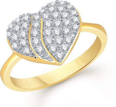 VK Jewels Alloy Cubic Zirconia Ring at flipkart