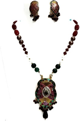 Kundaan Alloy Jewel Set(Multicolor) at flipkart