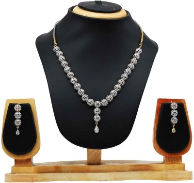 Hawai Alloy Jewel Set(Silver) at flipkart