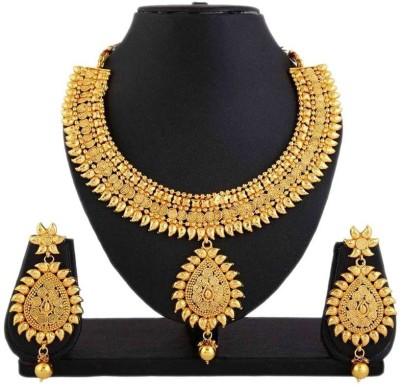 Jewels Gold Alloy Jewel Set(Multicolor) at flipkart
