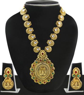 Zaveri Pearls Zinc Jewel Set(Multicolor) at flipkart
