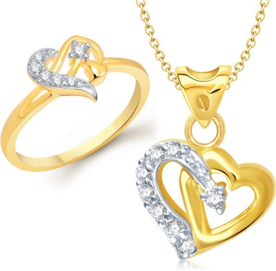 VK Jewels Alloy Jewel Set(Gold)