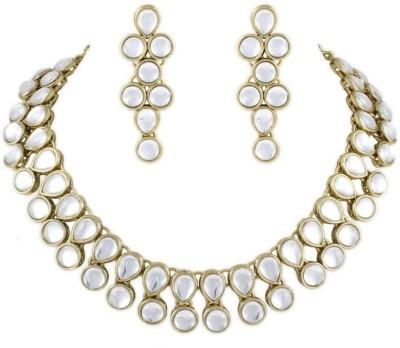 Karatcart Brass, Alloy Jewel Set(Gold) at flipkart