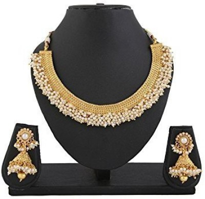 You Bella Alloy Jewel Set(Gold) at flipkart