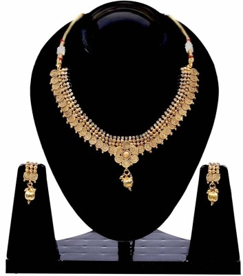 Jewels Gold Alloy Jewel Set(Gold) at flipkart