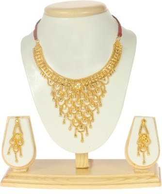 Eureka Metal Jewel Set(Gold) at flipkart