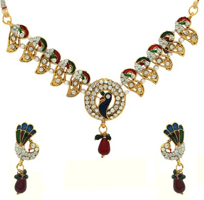 Luxor Alloy Jewel Set(Multicolor)  available at flipkart for Rs.369