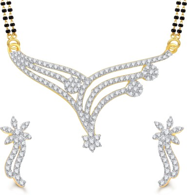 Vighnaharta Alloy Jewel Set(Multicolor) at flipkart