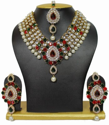 Sewad Alloy Jewel Set(Multicolor) at flipkart