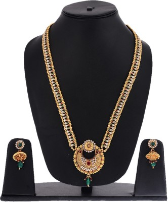 Zeneme Alloy Jewel Set(Multicolor) at flipkart