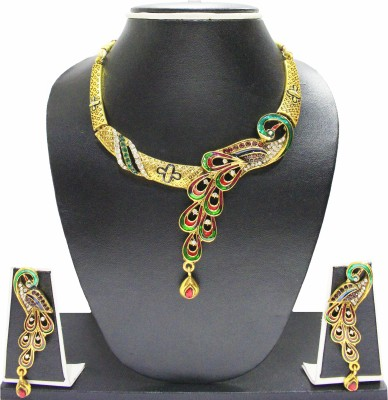 Zaveri Pearls Alloy Jewel Set(Multicolor) at flipkart