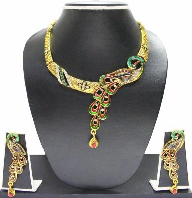Zaveri Pearls Alloy Jewel Set(Multicolor) at flipkart
