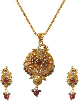 Surat Diamond Metal Jewel Set(Multicolor) at flipkart