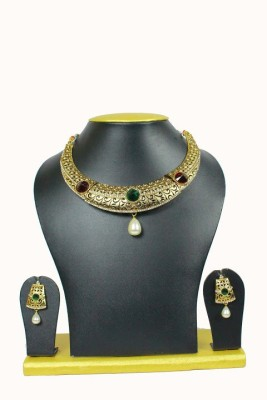 Sewad Alloy Jewel Set(Gold) at flipkart