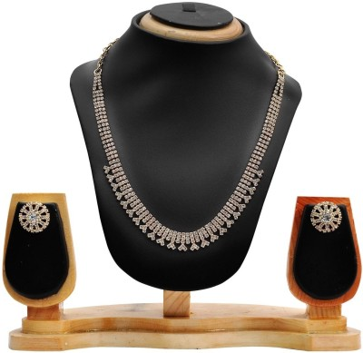 Hawai Alloy Jewel Set(White) at flipkart