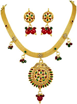Surat Diamond Metal Jewel Set at flipkart