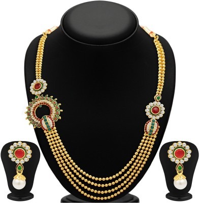 Sukkhi Alloy Jewel Set(Gold) at flipkart