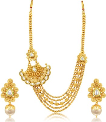 Sukkhi Alloy Jewel Set(Multicolor) at flipkart