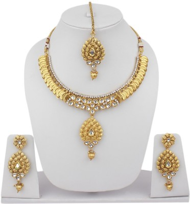 Styylo Fashion Alloy Jewel Set(Gold) at flipkart